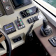 Motoryacht-charter-bavaria-virtess-420-Fly-IPS-spaceship-cockpit-2-marina-punat-kroatien-korocharter