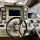 Motoryacht-charter-bavaria-virtess-420-Fly-IPS-spaceship-cockpit-4-marina-punat-kroatien-korocharter