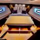 Motoryacht-charter-bavaria-virtess-420-Fly-IPS-spaceship-schlafzimmer-3-marina-punat-kroatien-korocharter